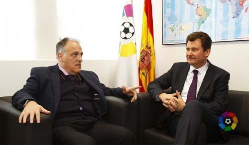 Президент ЛаЛиги ипосол Украины вИспании обсудили проблему Зозули