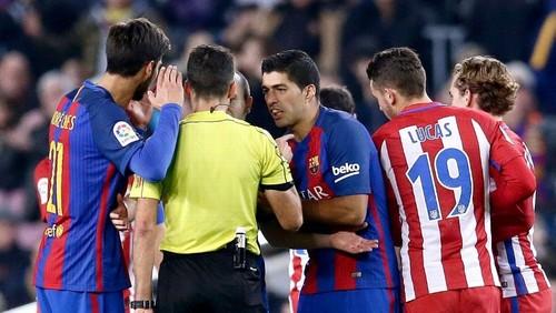 «Барселона» вышла вфинал Кубка Испании, сыграв вничью 1:1 с«Атлетико»