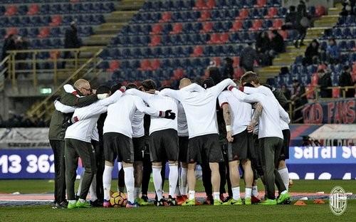 «Милан» переиграл «Болонью» вматче чемпионата Италии