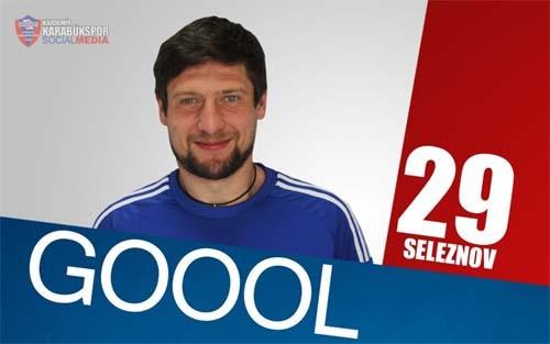 Победный гол Селезнева вматче с«Бешикташем» вчемпионате Турции