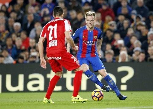 «Барселона» разгромила «Спортинг» вматче чемпионата Испании пофутболу
