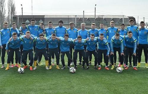 Сборная Украины U-17 вышла вфинал Евро
