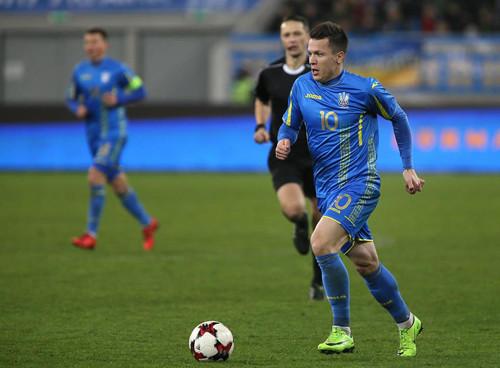 Ротань иКоноплянка вошли втоп-3 рекордсменов сборной Украинского государства