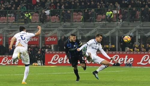 «Интер» обыграл «Аталанту» ивышел навторую строчку. Серия А. тринадцатый тур