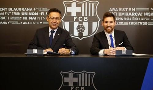 Лионель Месси продлил договор сфутбольным клубом «Барселона» до 2021г.