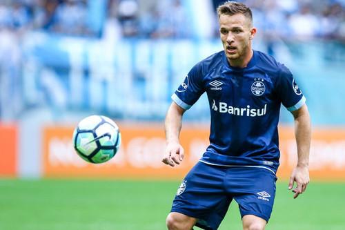 Полузащитник «Гремио» Артур хочет продолжить карьеру в«Барселоне»