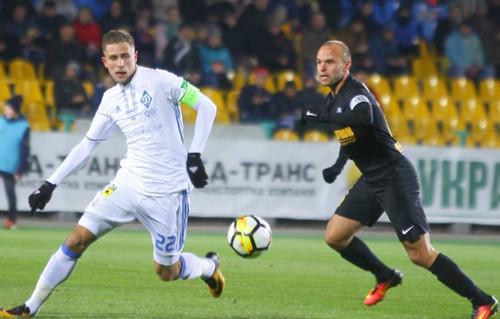 Киевское «Динамо» несумело одолеть вАлександрии