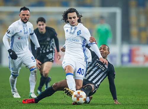 Киевское «Динамо» выиграло у«Партизана», «Янг Бойз»— у«Скендербеу»
