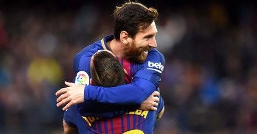 «Барселона» впервый раз с2007 года обыграла «Реал Сосьедад» вгостях