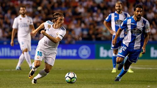 «Реал» разгромил «Депортиво» сосчётом 7:1