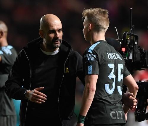 Зинченко помог Манчестер Сити выйти вфинал Кубка британской лиги