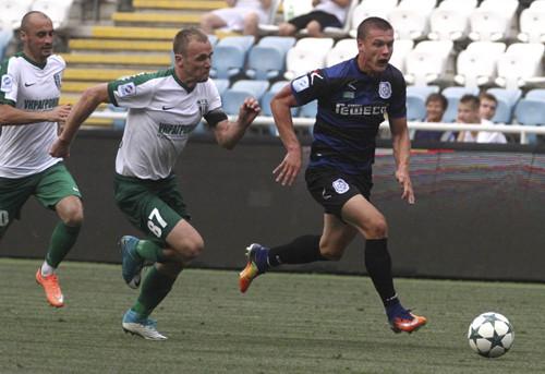 «Александрия» и«Черноморец» свели вничью матч Премьер-лиги