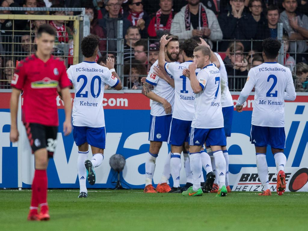 Коноплянка помог Шальке ворваться взону Лиги чемпионов!