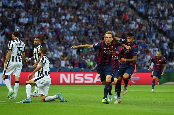 Барселона обыграла ювентус