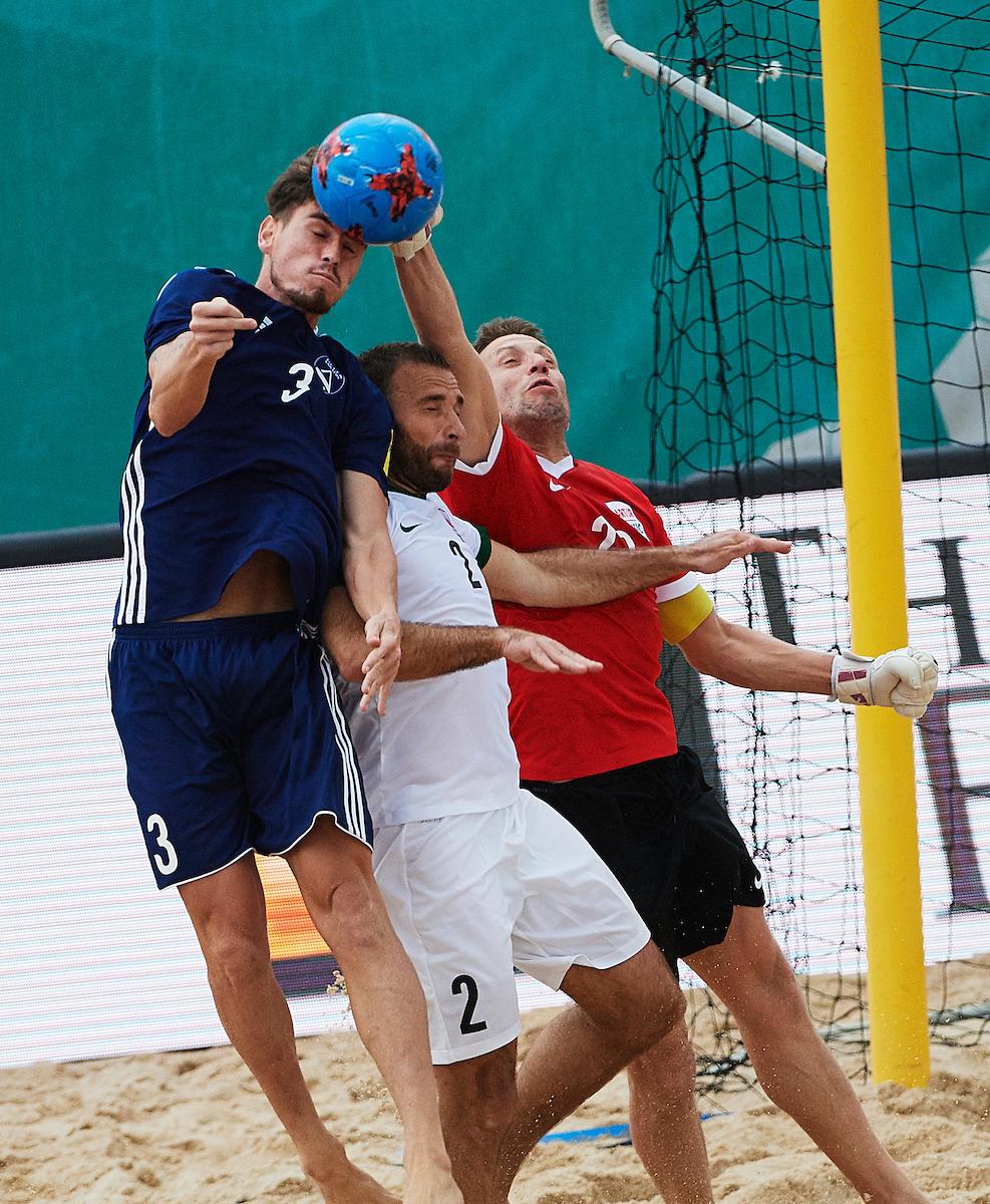 «Дельта» вышла вполуфинал Кубка европейских чемпионов попляжному футболу