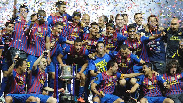 барселона фото футбольная команда