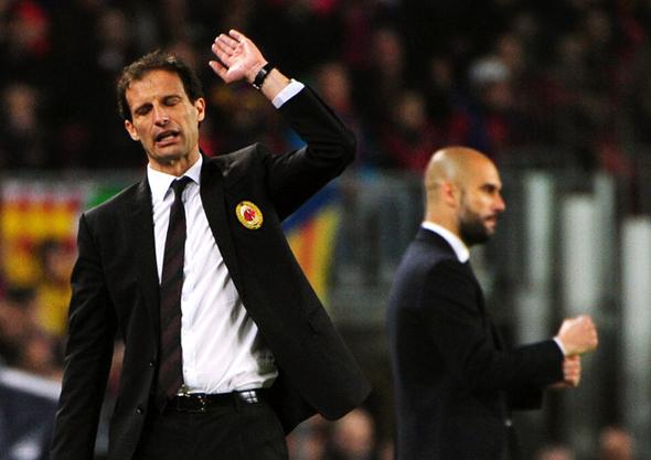 Барселона проходит Милан