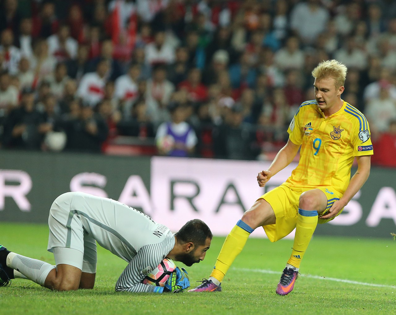 Концовка нам неудалась, однако турки забили соспорного пенальти— Андрей Шевченко