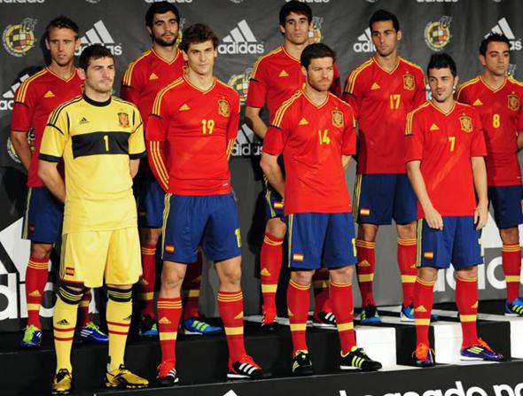 А так сборная Испании будет