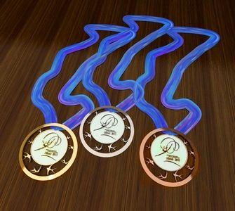 Медали художественной гимнастике