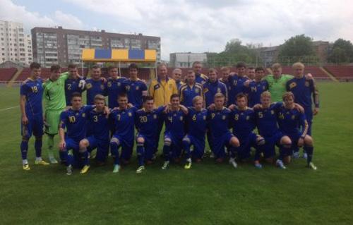 Сборная Украины U-19 начала подготовку к Евро-2014