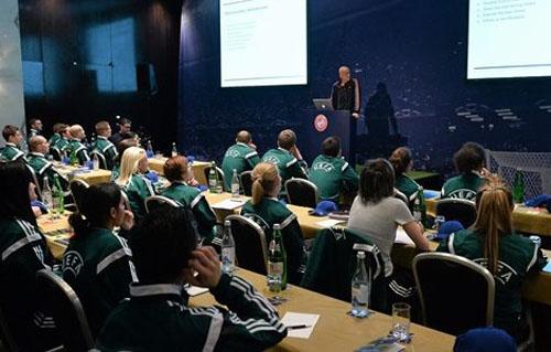 Украинские футбольные арбитры готовятся к сезону в Лиссабоне
